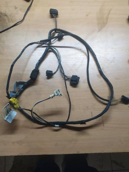 Проводка передних фар Renault Scenic 2 JM K9K732 2007 (б/у)