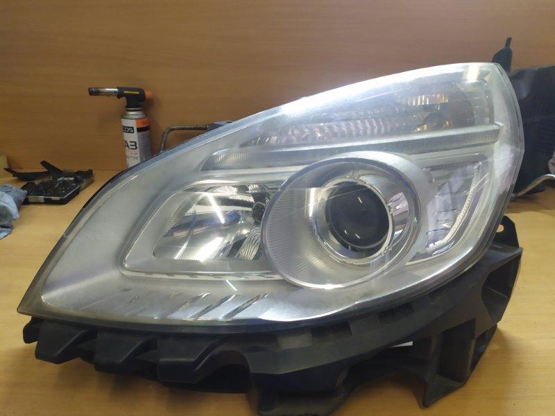 Фара Renault Scenic 2 JM K9K732 2007 передняя левая (б/у)