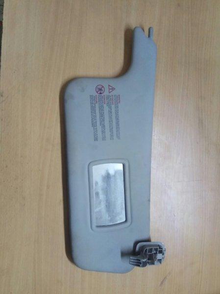 Козырек солнцезащитный Renault Scenic 2 JM K9K732 2007 передний правый (б/у)
