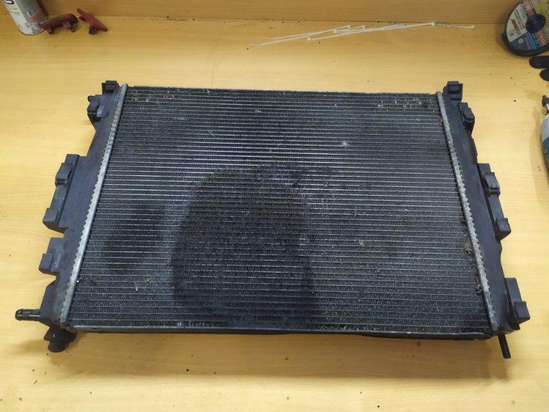 Радиатор охлаждения Renault Scenic 2 JM K9K732 2007 (б/у)