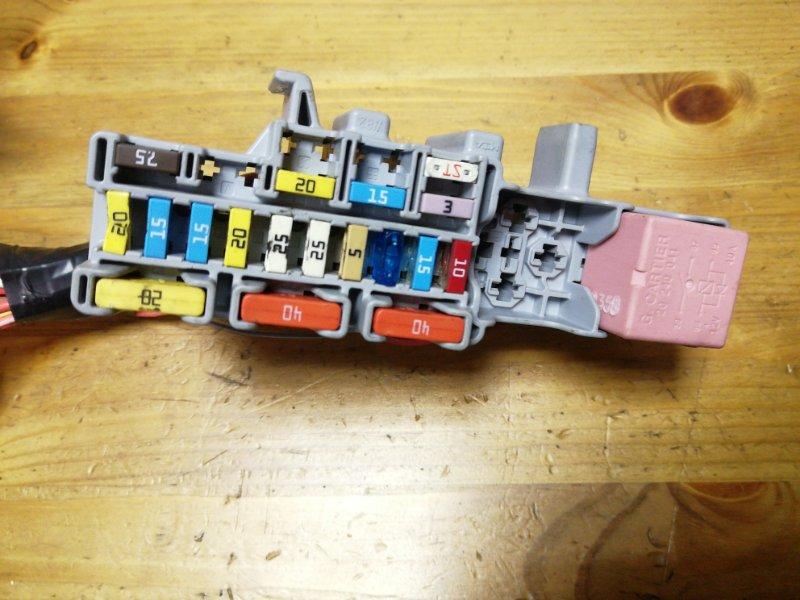 Блок предохранителей Renault Scenic 2 JM K9K732 2007 (б/у)