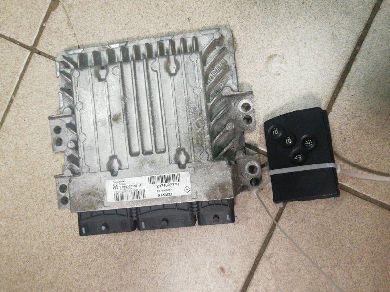 Блок управления двигателем Renault Grand Scenic 3 JM K9K832 2010 (б/у)