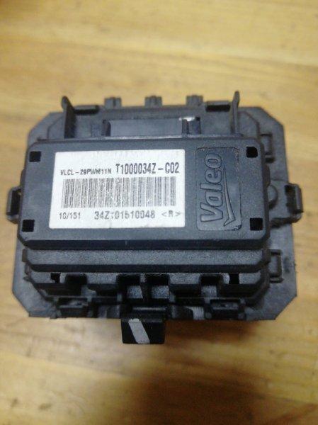 Резистор отопителя Renault Grand Scenic 3 JM K9K832 2010 (б/у)