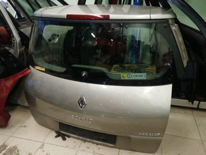 Крышка багажника Renault Scenic 2 К4М 2007 задняя (б/у)
