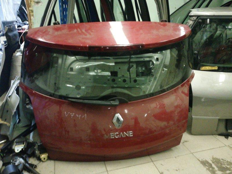 Крышка багажника Renault Megane 2 К4М 2007 задняя (б/у)