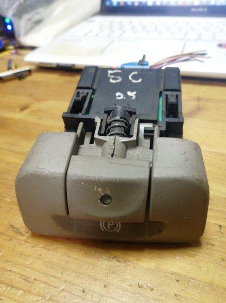 Кнопка электро ручника Renault Scenic 2 K4M 2007 (б/у)