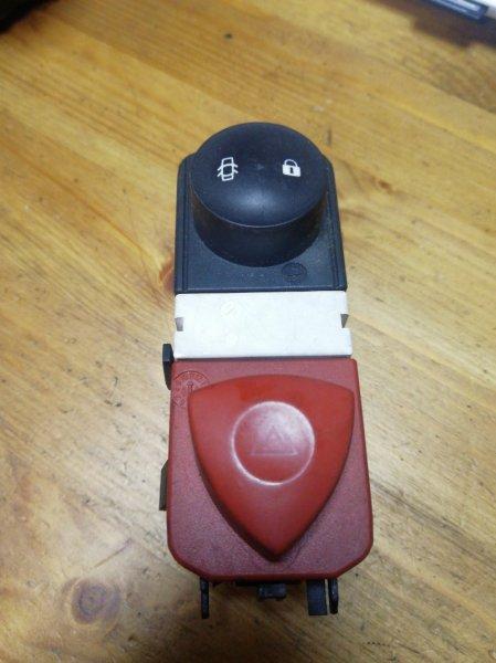 Кнопка аварийной сигнализации Renault Scenic 2 K4M 2007 (б/у)