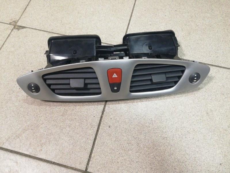 Дефлектор отопителя Renault Grand Scenic 3 К9К передний (б/у)