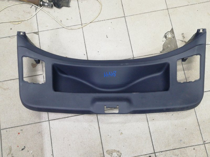 Обшивка багажника Renault Megane 3 EZ0/1 K9K834 2011 задняя (б/у)