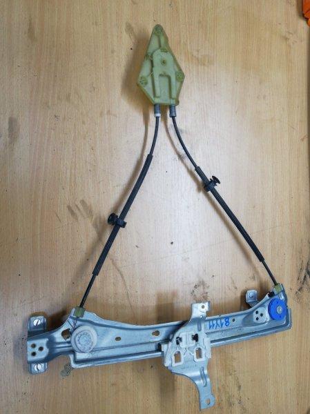 Механизм стеклоподьемника Renault Megane 3 EZ0/1 K9K834 2011 задний правый (б/у)