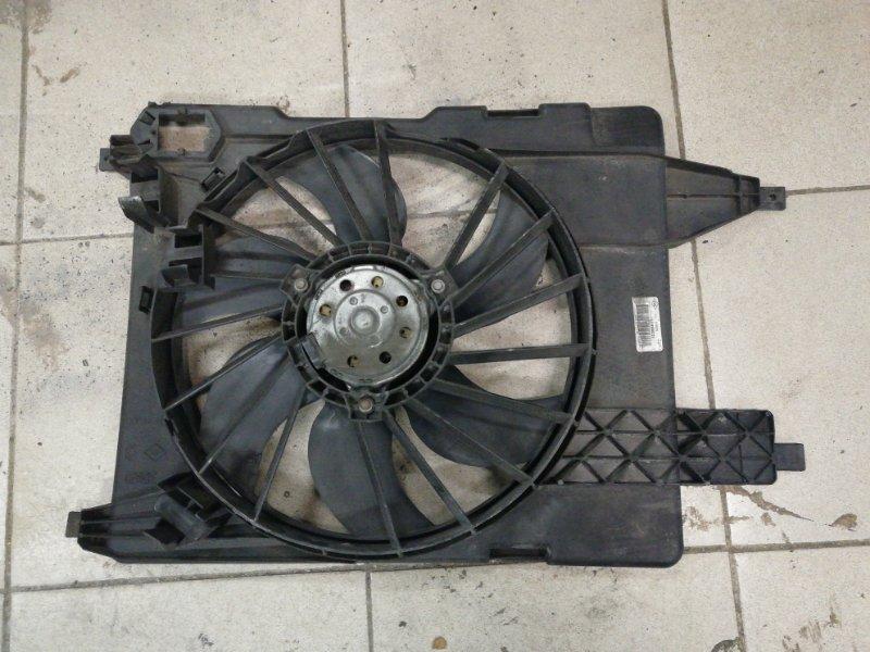 Вентилятор радиатора Renault Scenic 2 JM K9K 2009 (б/у)