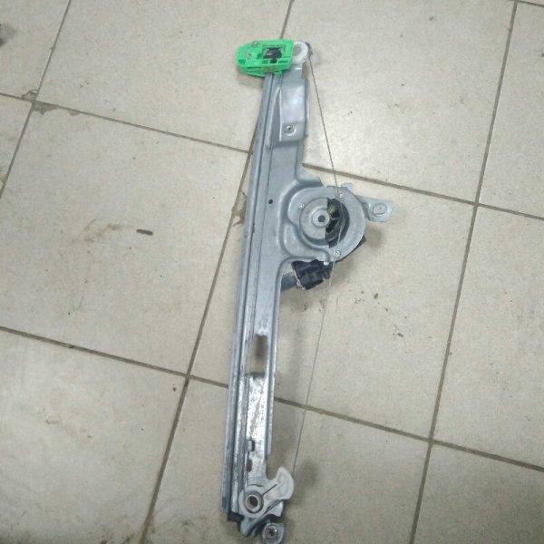 Стеклоподъемник Renault Scenic 2 К9К 2007 передний правый (б/у)