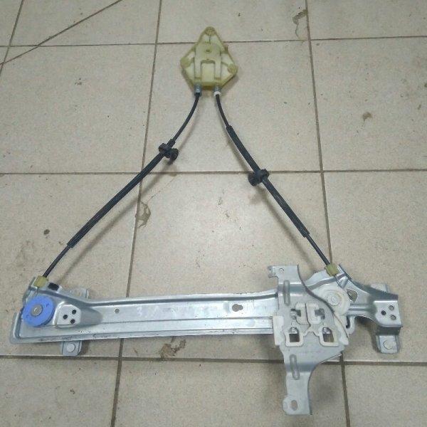 Механизм стеклоподьемника Renault Megane 3 К9К 2011 задний левый (б/у)