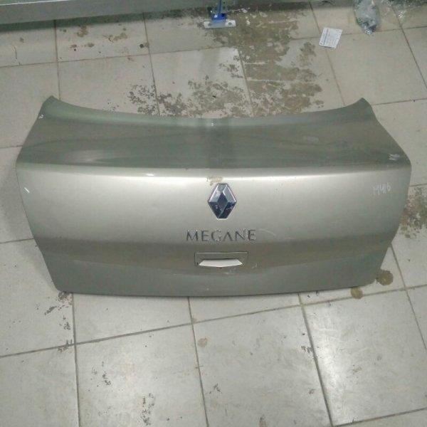 Крышка багажника Renault Megane 2 СЕДАН K9K 2007 задняя (б/у)