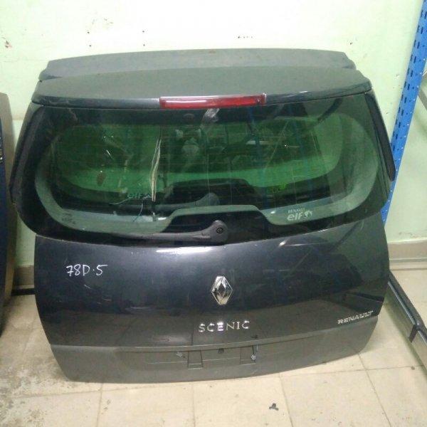 Крышка багажника Renault Scenic 2 K9K 2007 задняя (б/у)