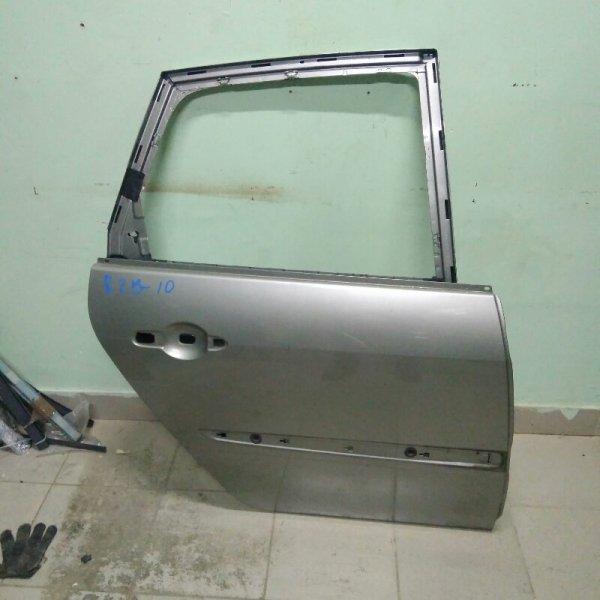 Дверь Renault Scenic 2 K9K 2007 задняя правая (б/у)