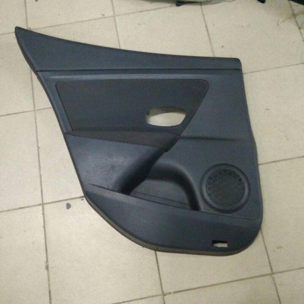 Обшивка двери Renault Megane 3 K9K задняя левая (б/у)