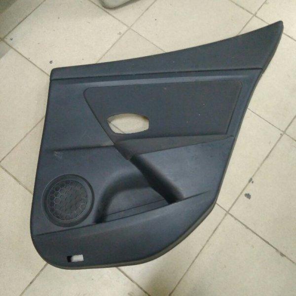 Обшивка двери Renault Megane 3 K9K задняя правая (б/у)
