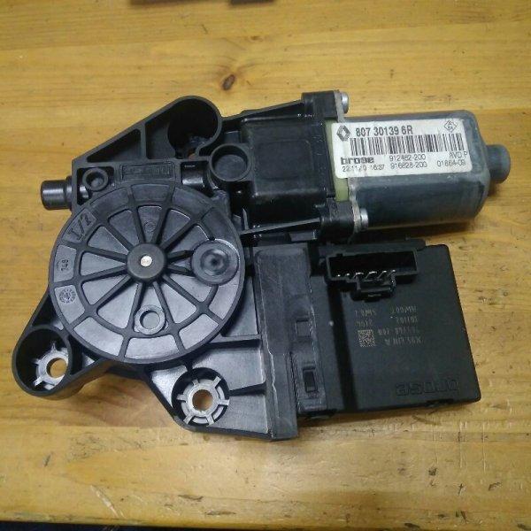 Мотор стеклоподъемника Renault Megane 3 EZ0/1 K9K834 2011 передний левый (б/у)