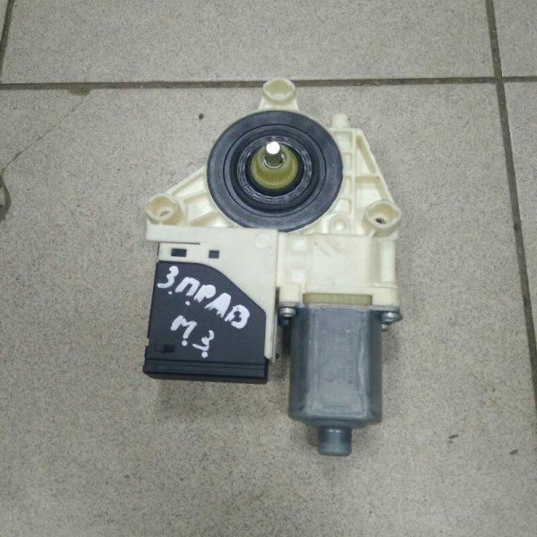 Мотор стеклоподъемника Renault Megane 3 K9K 2009 задний правый (б/у)