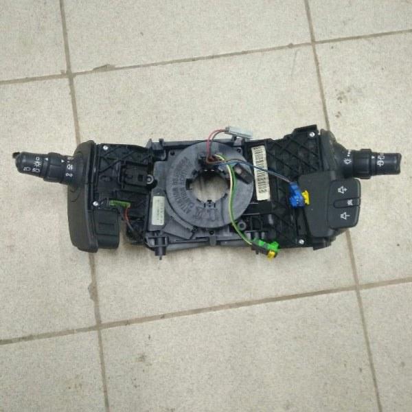 Подрулевой переключатель Renault Scenic 2 JM F9QC750C012315 2004 передний левый (б/у)