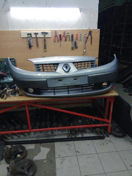 Бампер Renault Scenic 2 JM F9QC750C012315 2004 передний (б/у)