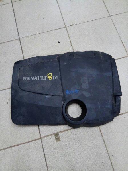 Крышка двигателя Renault Scenic 2 JM F9QC750C012315 2004 верхняя (б/у)
