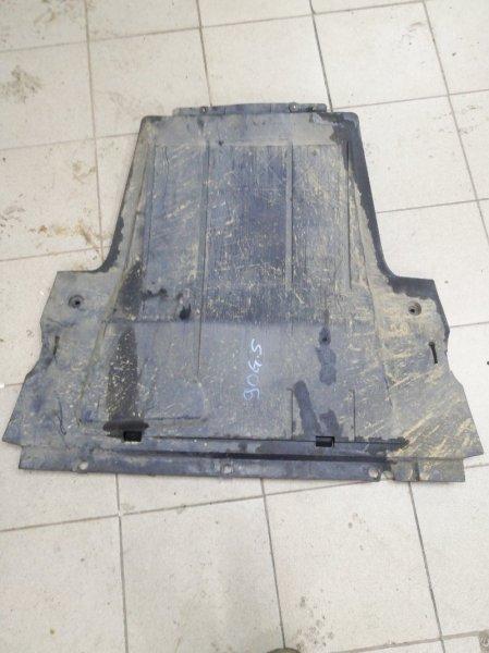 Защита двигателя Renault Scenic 2 JM F9QC750C012315 2004 передняя нижняя (б/у)