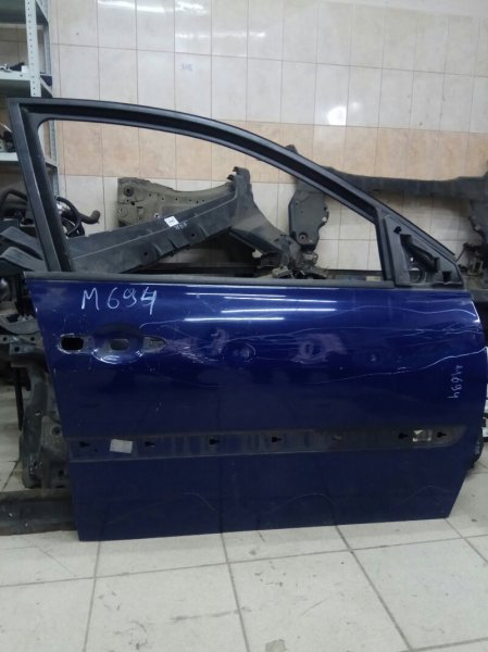 Дверь Renault Megane 2 К9К 2007 передняя правая (б/у)