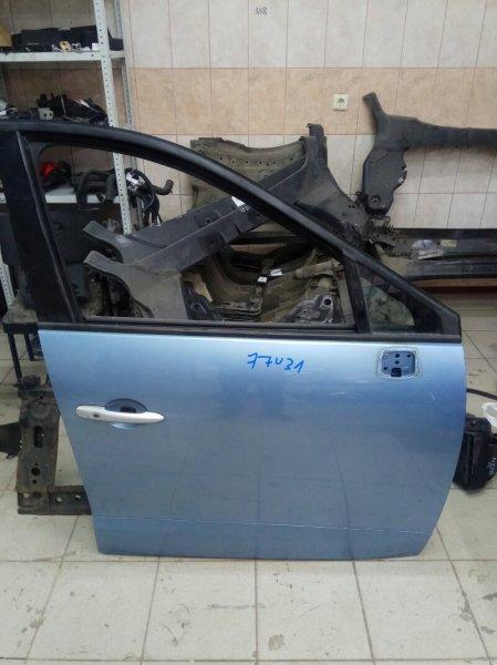 Дверь Renault Grand Scenic 3 JM K9K832 2010 передняя правая (б/у)
