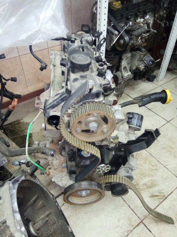 Двигатель Renault Megane 3 EZ0/1 K9K834 2011 (б/у)