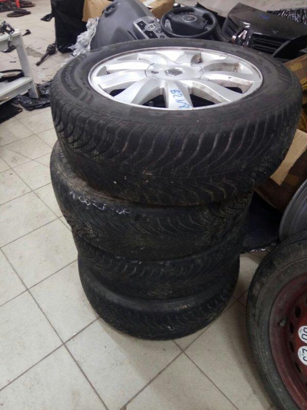 Комплект колес с резиной (литые) Renault Grand Scenic 2 M9RA700 2007 (б/у)