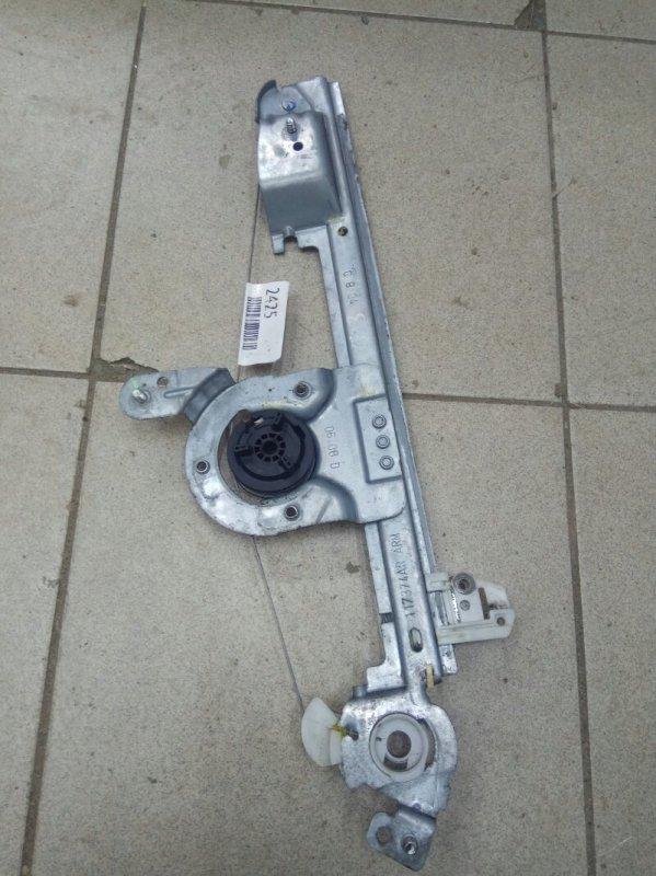 Механизм стеклоподьемника Renault Scenic 2 К9К 2007 задний правый (б/у)