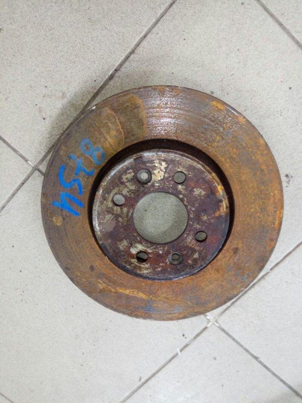 Тормозной диск Renault Megane 2 УНИВЕРСАЛ К4М813 2008 передний (б/у)