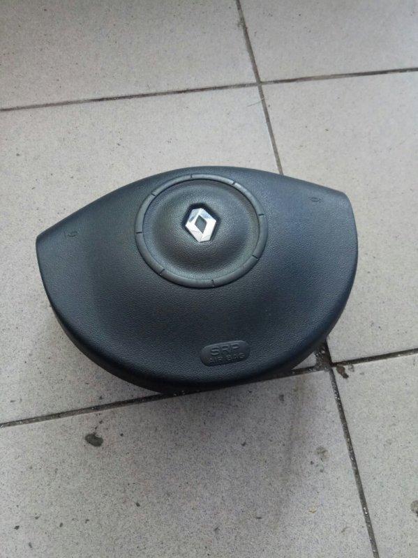 Подушка безопасности в руль Renault Megane 2 УНИВЕРСАЛ K4M812 2006 (б/у)