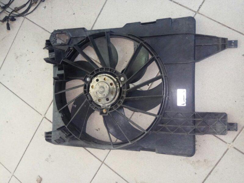 Вентилятор радиатора Renault Grand Scenic 2 МИНИВЭН K4M766 2006 (б/у)