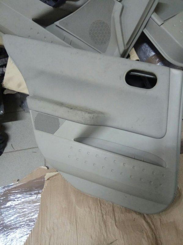 Обшивка двери Renault Megane 2 УНИВЕРСАЛ К4М856 2008 задняя левая (б/у)
