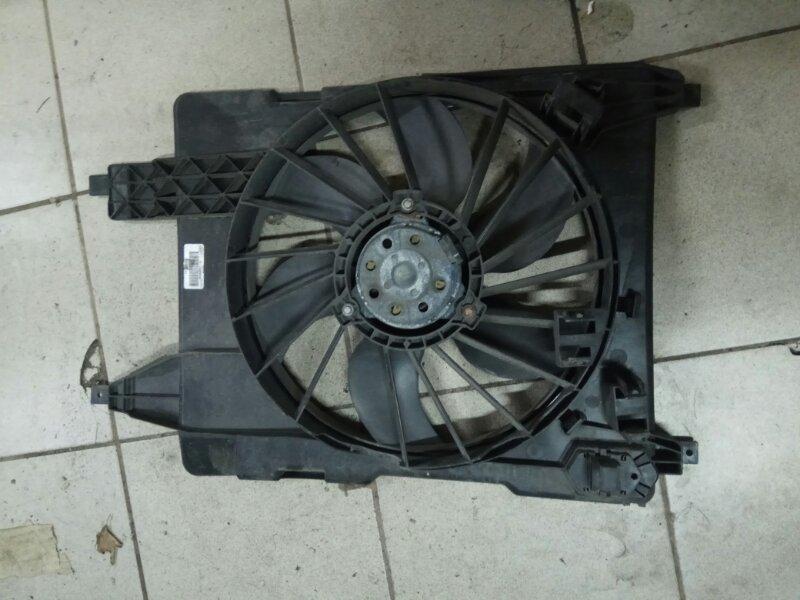 Вентилятор радиатора Renault Megane 2 УНИВЕРСАЛ К4М856 2008 (б/у)