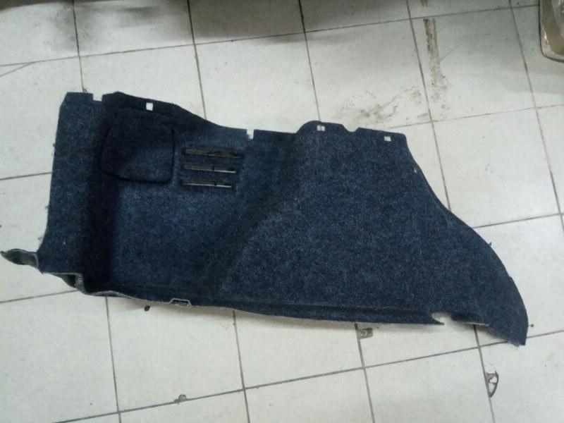 Обшивка багажника Renault Megane 2 УНИВЕРСАЛ К4М856 2008 задняя левая (б/у)