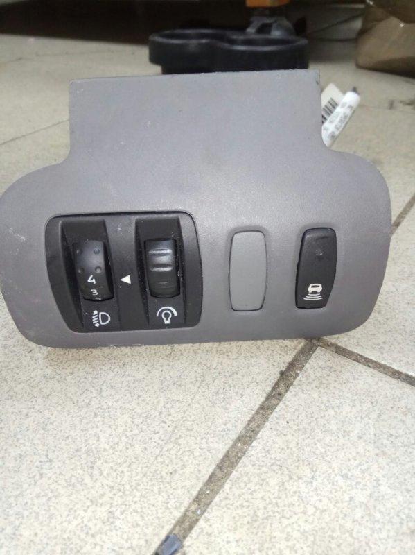 Кнопка корректора фар Renault Scenic 2 УНИВЕРСАЛ K9K732 2007 (б/у)