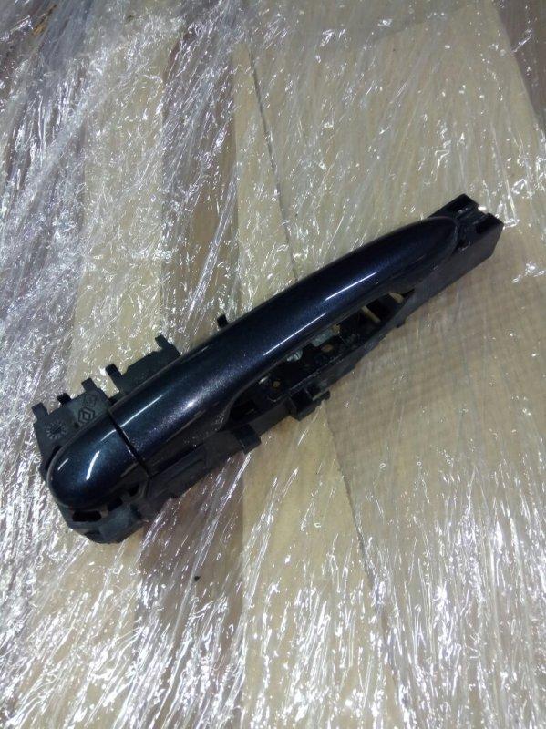Ручка двери внешняя Renault Scenic 2 УНИВЕРСАЛ K9K732 2006 задняя правая (б/у)