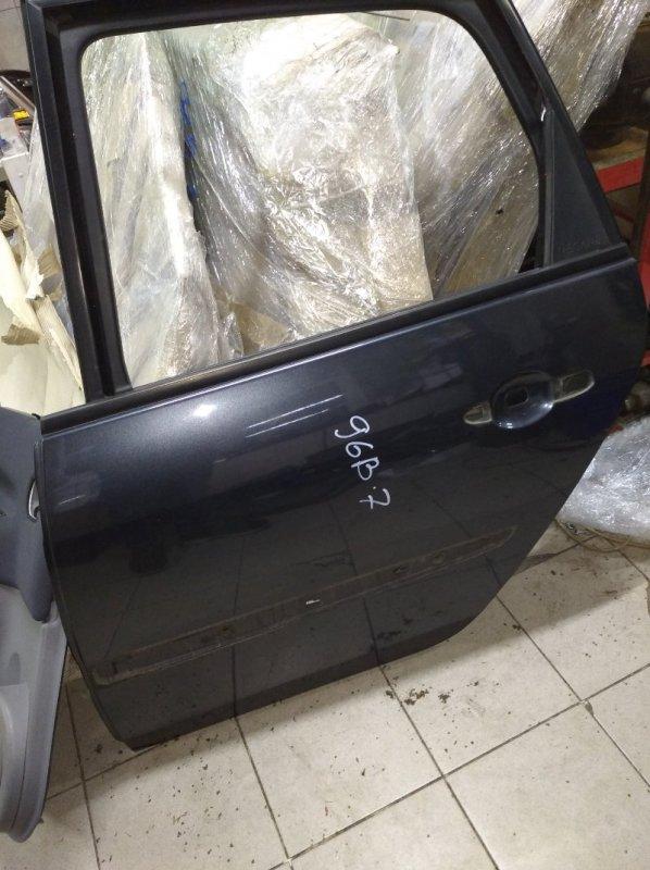 Дверь Renault Scenic 2 УНИВЕРСАЛ K9K732 2006 задняя левая (б/у)