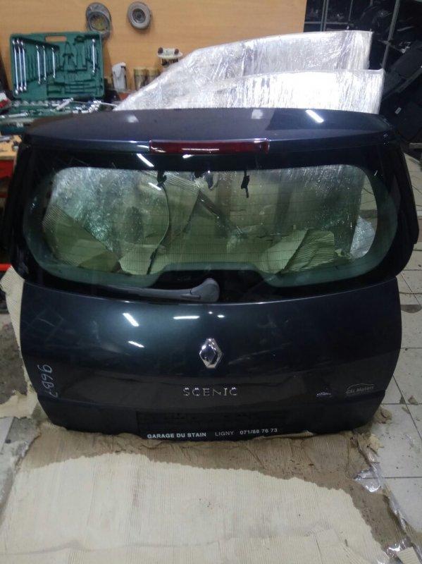 Крышка багажника Renault Scenic 2 УНИВЕРСАЛ K9K732 2007 задняя (б/у)