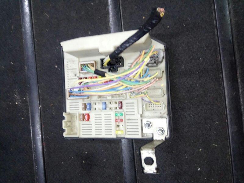 Блок предохранителей Renault Scenic 2 УНИВЕРСАЛ K9K732 2006 (б/у)
