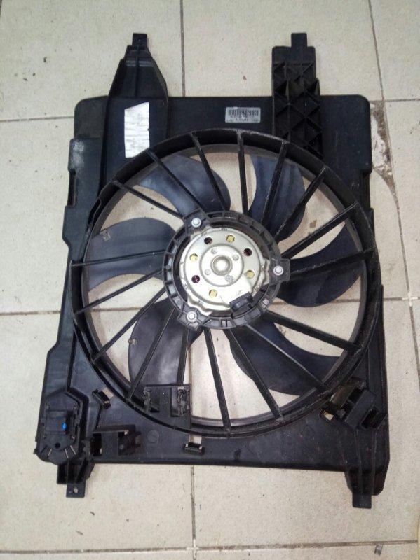 Вентилятор радиатора Renault Scenic 2 УНИВЕРСАЛ K9K732 2006 (б/у)
