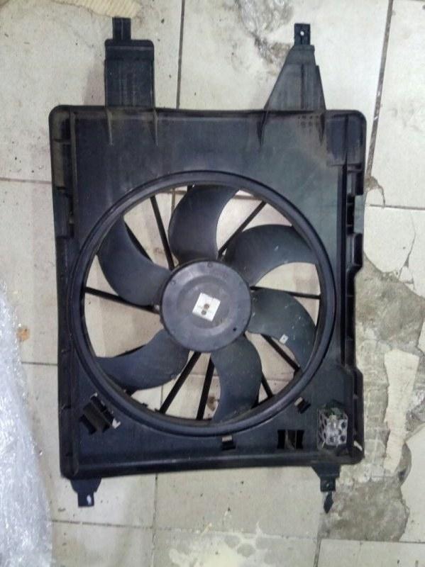 Вентилятор радиатора Renault Scenic 2 УНИВЕРСАЛ K9K732 2007 (б/у)