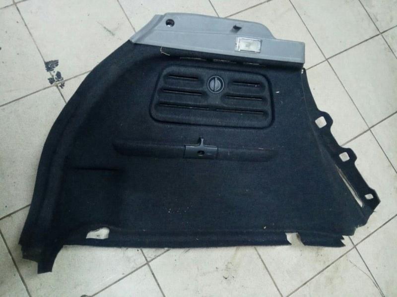 Обшивка багажника Renault Scenic 2 УНИВЕРСАЛ K9K732 2006 задняя левая нижняя (б/у)