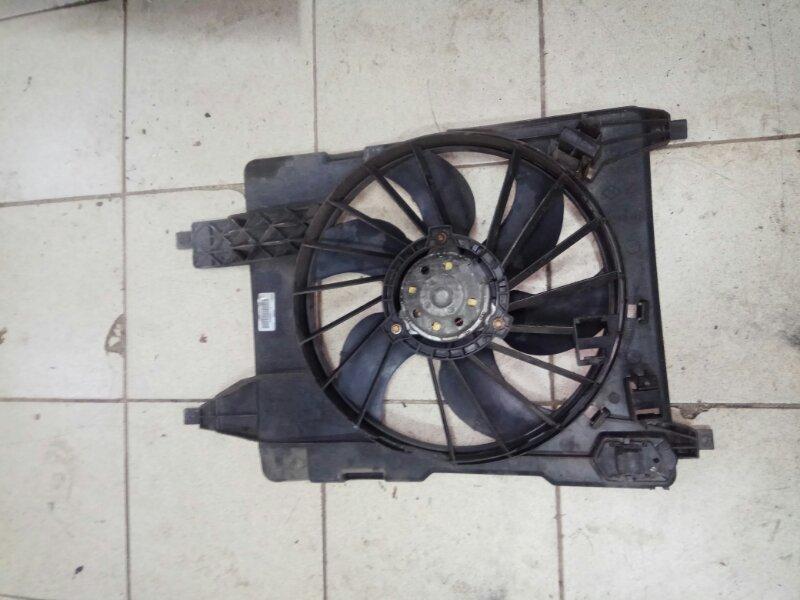Вентилятор радиатора Renault Scenic 2 K9K732 2007 (б/у)