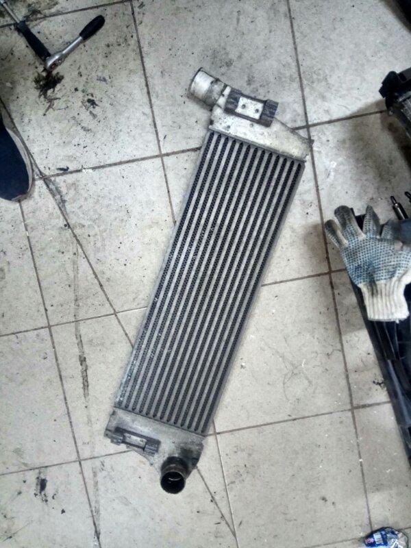 Радиатор интеркулера Renault Scenic 2 K9K732 2007 (б/у)