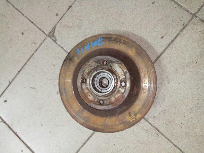 Тормозной диск Renault Scenic 2 K9K732 2007 задний (б/у)